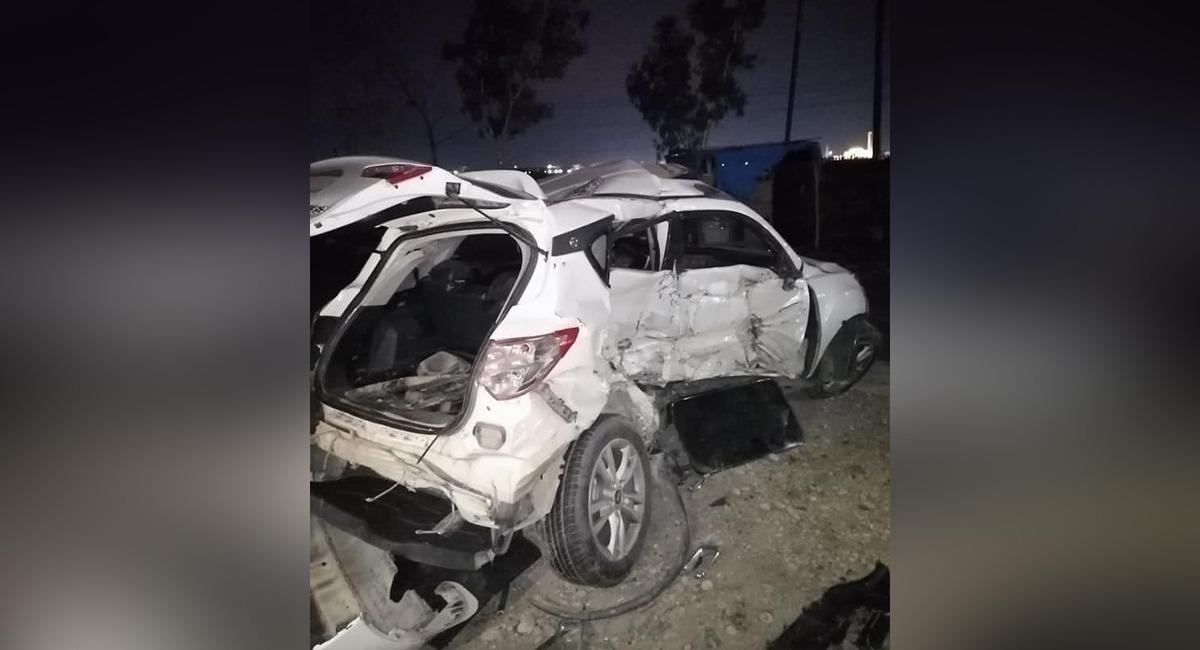صور .. وفاة وإصابة 5 أشخاص بحادث تصادم ثلاث عجلات في أربيل