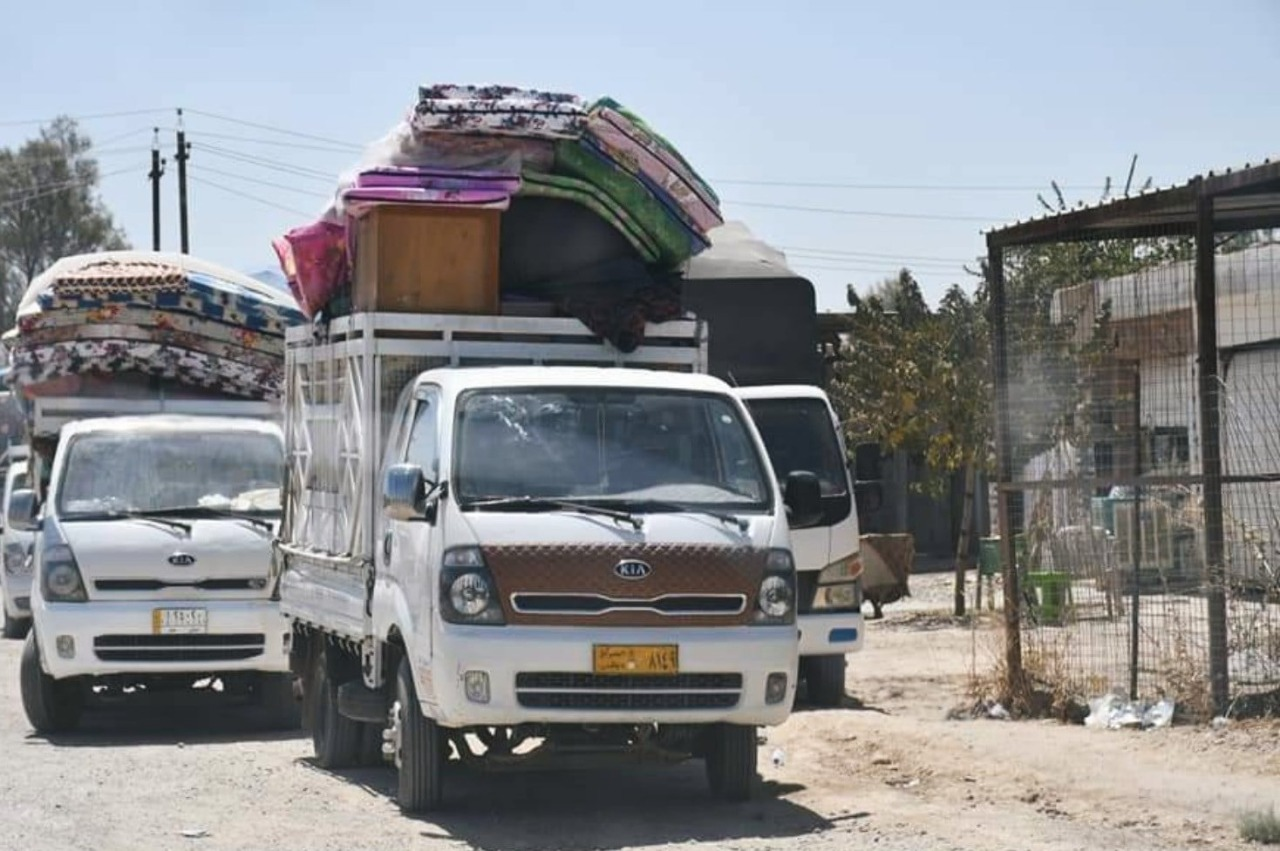 than 170 displaced families returned to north of Miqdadiyah