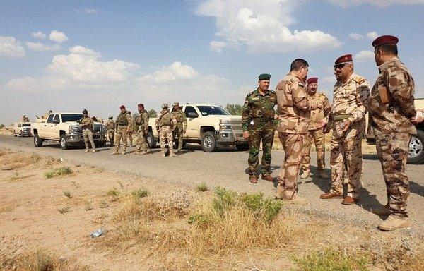 Iraqi Forces deploys in Sinjar