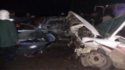 تفحّم 3 أشخاص في حادث سير مروّع بالسليمانية.. صور