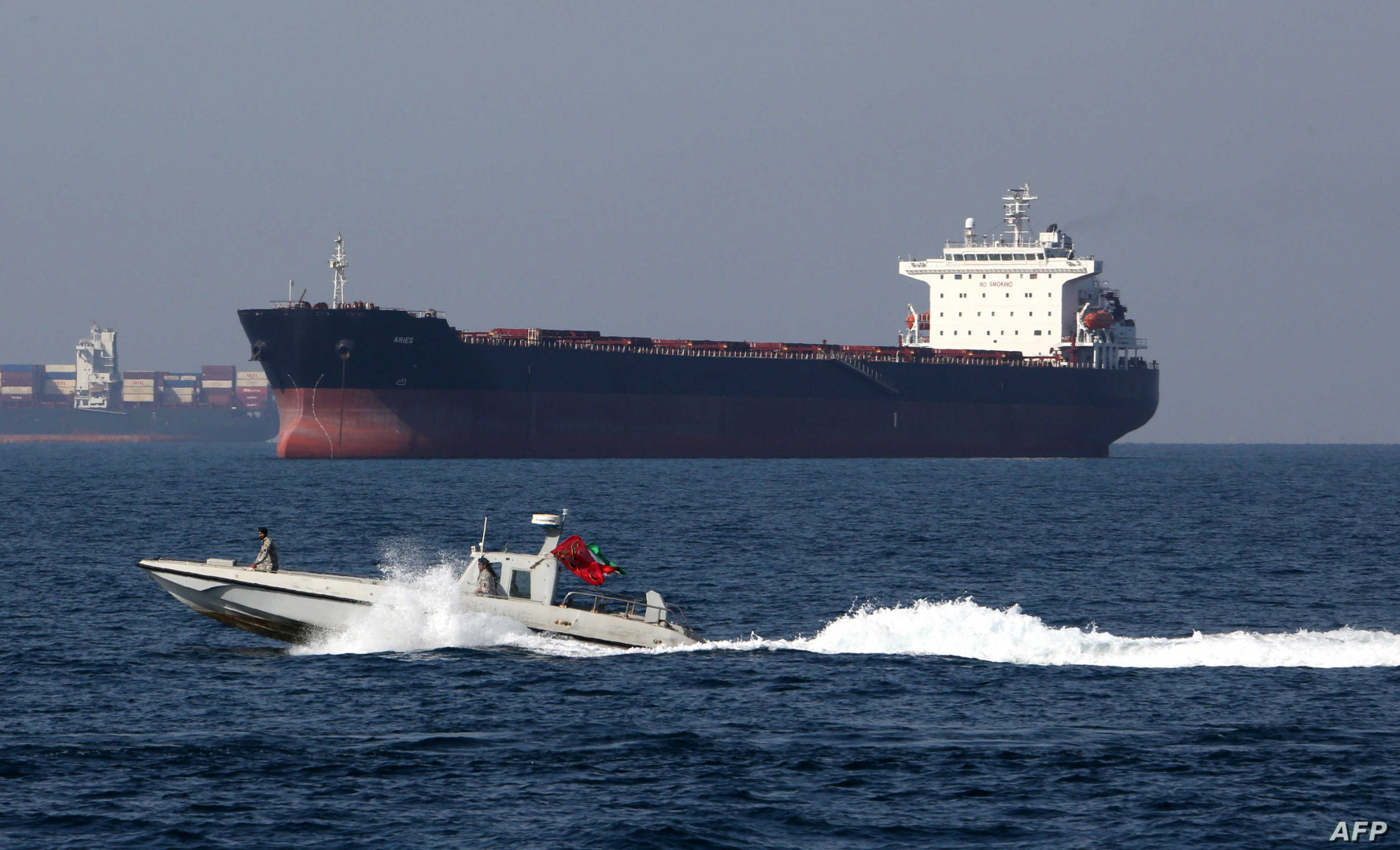 Iran seizes foreign ship smuggling fuel in Persian Gulf