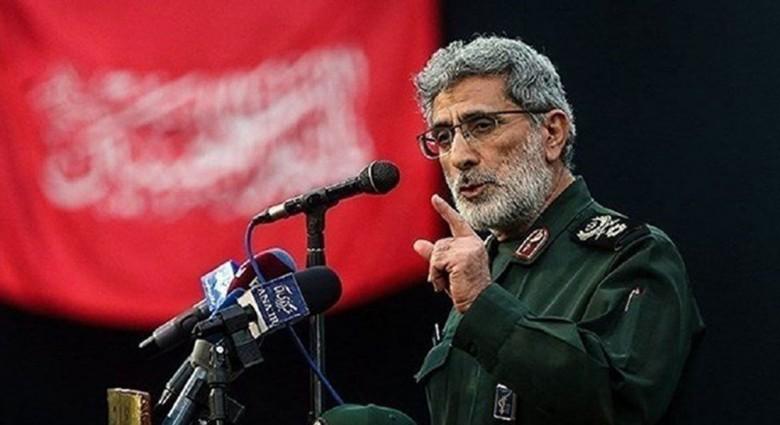 Iran' commander of Quds Force visits Baghdad