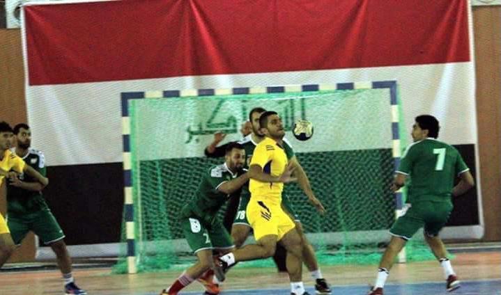 السليمانية تضيّف منافسات التجمع الأول لدوري كرة اليد الممتاز