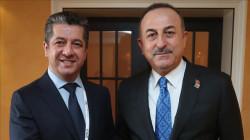وزير الخارجية التركي يهاتف بارزاني
