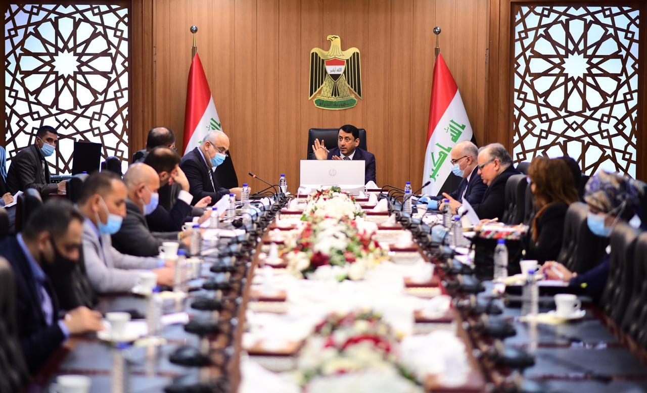 The Cabinet Secretariat discusses allocating 5 trillion Iraqi dinars to fund projects