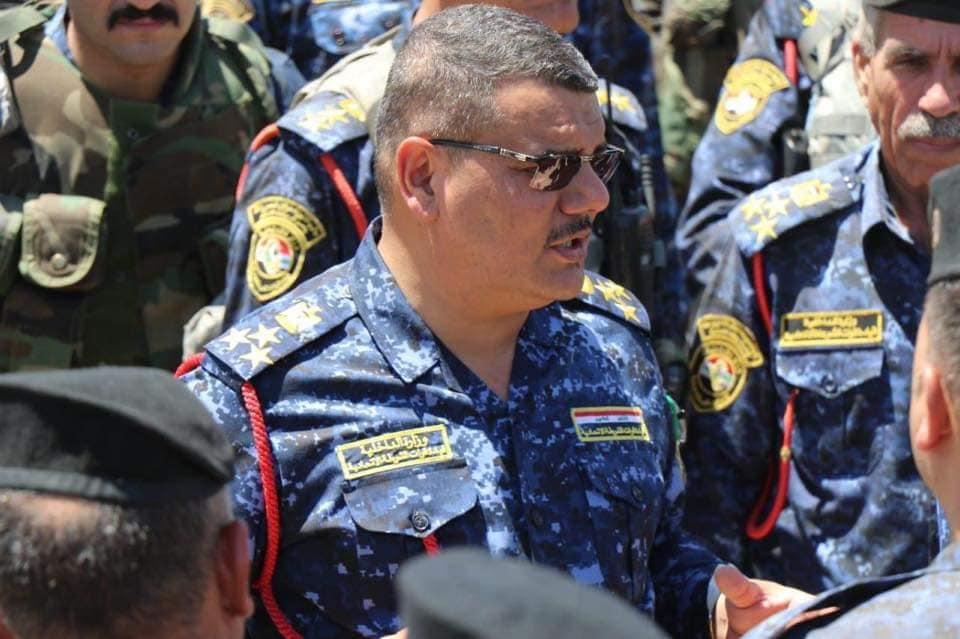 الغانمي يجري تغييراً في قيادة الشرطة الاتحادية