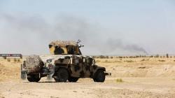 جرحى من قوات الجيش العراقي بنيران قناص شمالي بغداد