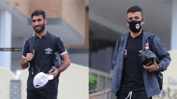 لاعبا المنتخب العراقي أحمد إبراهيم ومحمد رضا ينتصران على كورونا