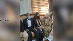 بعد 6 سنوات من أسر داعش.. نسرين الايزيدية تعانق ذويها في دهوك