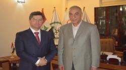 رعد حمودي في عُمان بصفته رئيساً للأولمبية العراقية