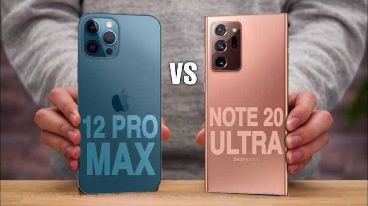 iPhone 12 و Galaxy Note 20 Ultra .. تعرف على الفائز بأختبار سرعة الاداء ومميزات اخرى