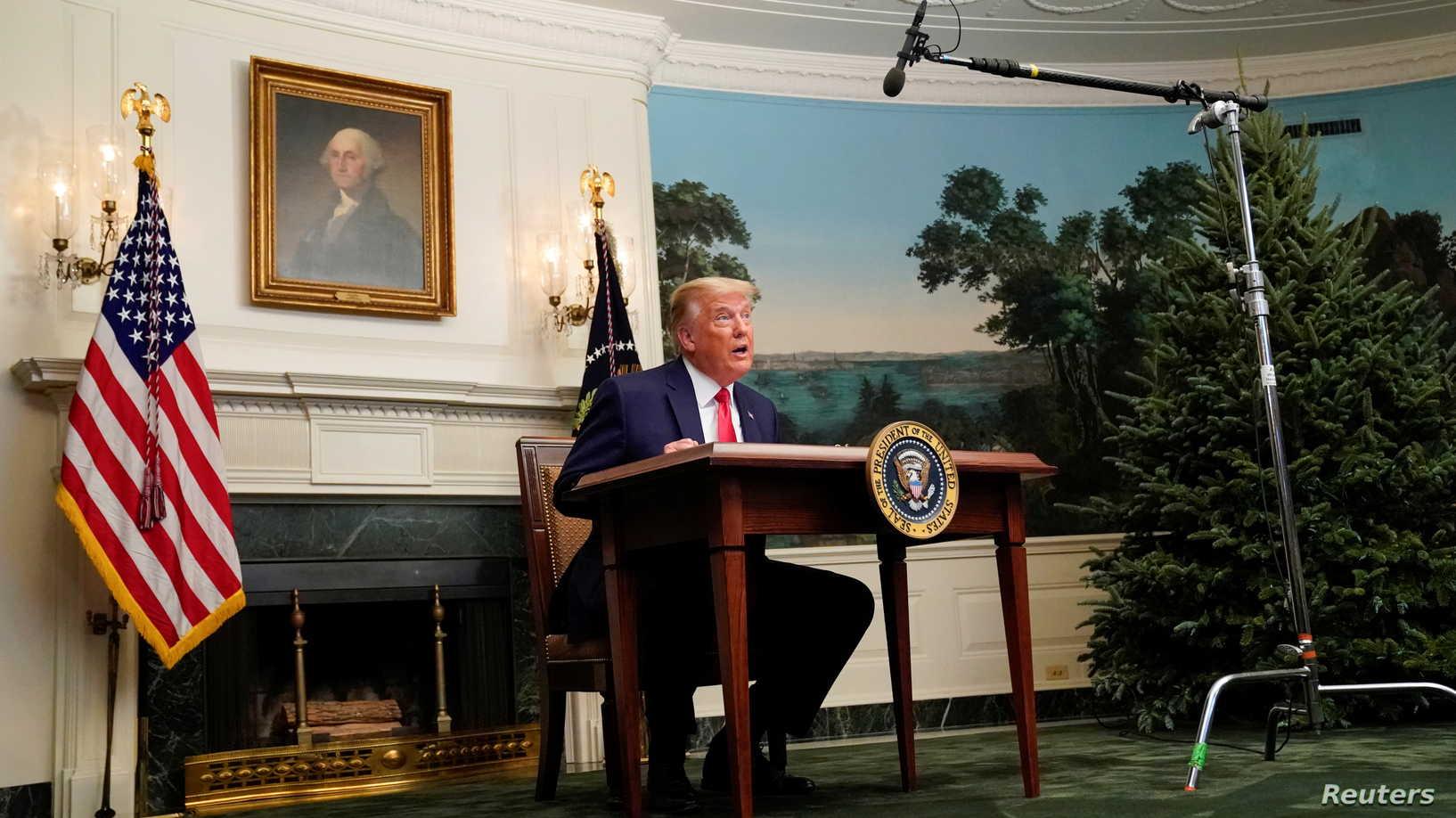 ترامب يطلق تحذيراً شديد اللهجة إلى إيران