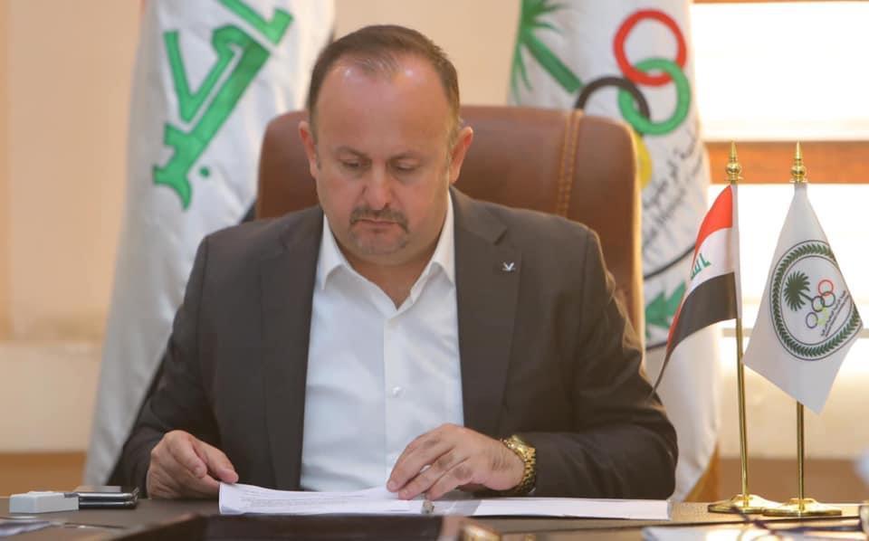 """أزمة الأولمبية العراقية.. سرمد عبد الاله يقرر الطعن بـ""""الامر الولائي"""""""