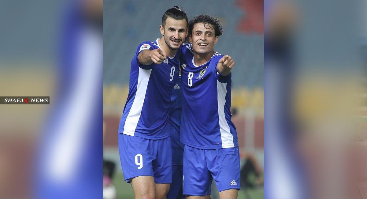 بعد انتهاء الجولة الخامسة.. حسين وابراهيم يتصدران قائمة هدافي الدوري العراقي