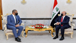 """بغداد تطلع لندن على """"تقدم ملموس"""" بدحر داعش وتبحث معها الانتخابات"""
