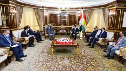 بارزاني يرفض استخدام الرواتب كورقة ضغط لمعاقبة كوردستان
