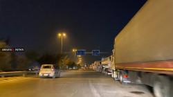 الموصل.. إتاوات وقرارات الإغلاق تشلان حركة الشاحنات والتجارة