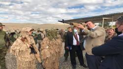 وزير بريطاني يتفقد قوات البيشمركة في السليمانية