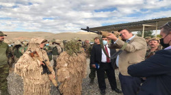 British Minister inspects Peshmerga forces in Al-Sulaymaniyah