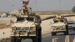 An international coalition convoy enters Syria through the Kurdistan region