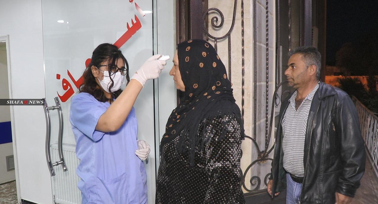 13 إصابة جديدة بكورنا في مناطق الإدارة الذاتية