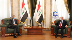 Al-Nujaifi discusses the endowments agreement with the Jordanian ambassador to Baghdad