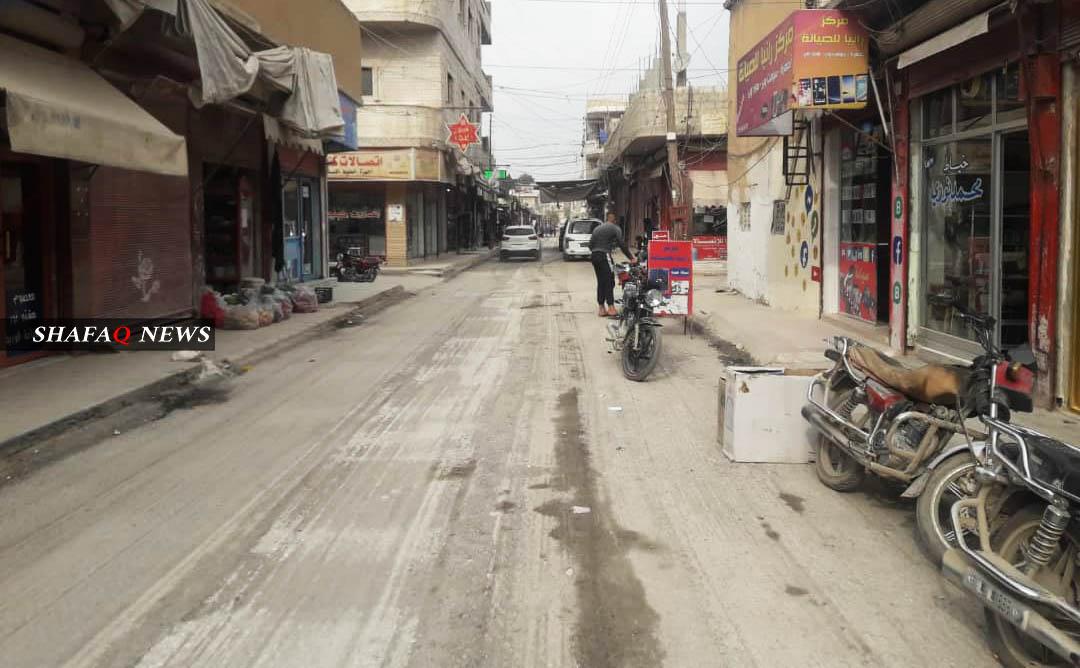 الطبقة العاملة في كوباني تعاني الأمرين بمواجهة الإغلاق الشامل