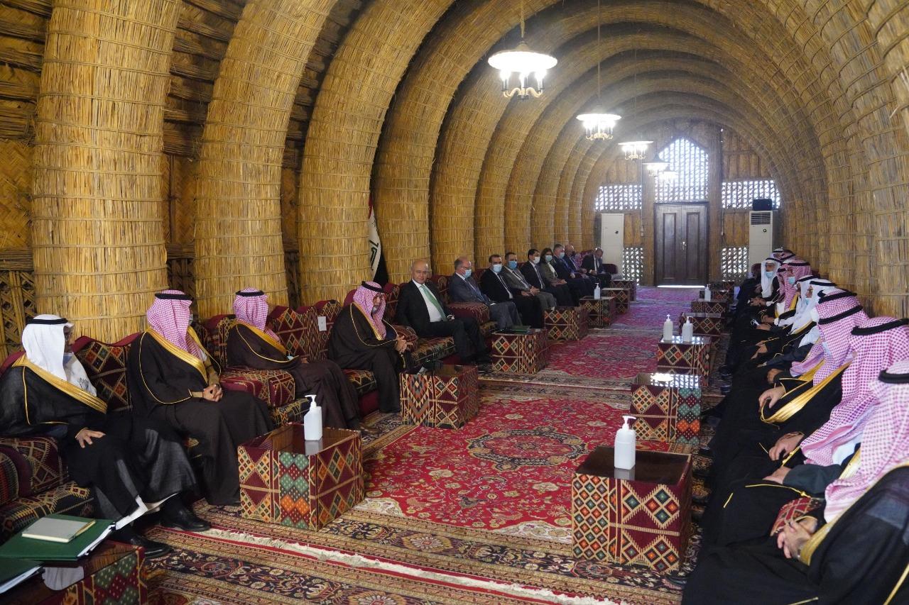 الرئيس العراقي يبلغ السعودية رغبة بتعزيز العلاقات في مختلف المجالات