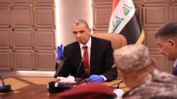 The Iraqi Minister of interior arrives in Kirkuk