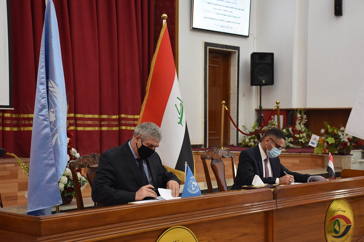 Baghdad signs a new agreement with the UN to fight corruption in Iraq and Kurdistan