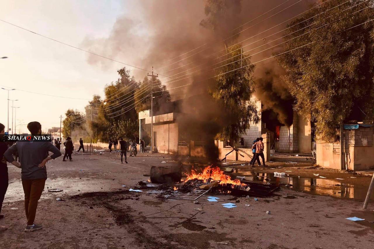 سقوط ضحية مع تجدد أعمال العنف باحتجاجات في كرميان