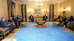 Schenker visits the Kurdish President