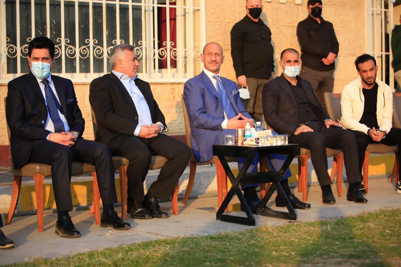 درجال يكشف اسباب تأخر افتتاح ملعبين في بغداد