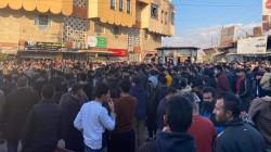 بالتزامن مع السليمانية .. عودة الاحتجاجات في حلبجة وادارة منطقتين