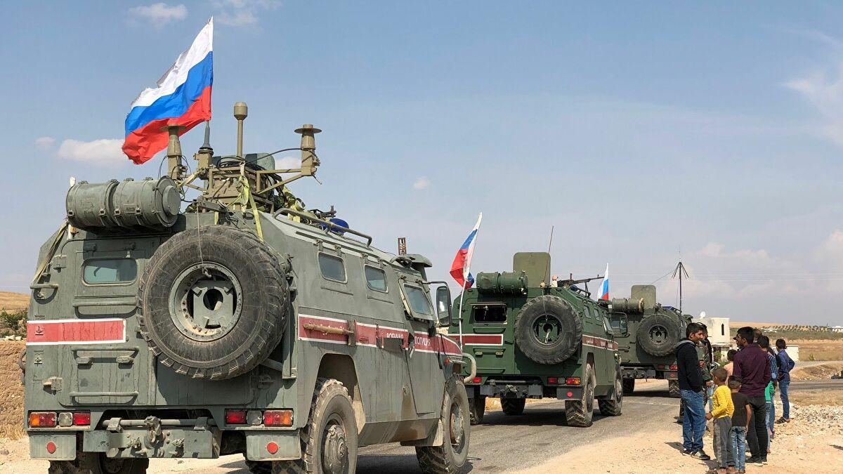 الشرطة الروسية تسير دورية عسكرية شمال شرقي سوريا