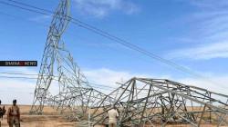 إعادة تأهيل 15 برجا كهربائيا تعرضت لأعمال تخريبية في الانبار
