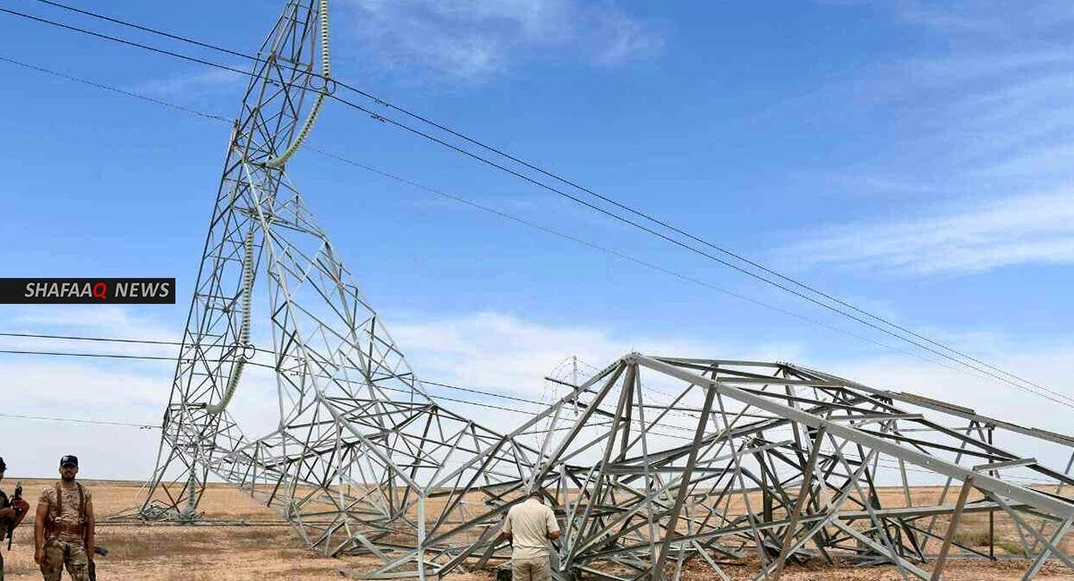 هجوم لداعش يحرم مناطق ومدن غربي العراق من الطاقة الكهربائية