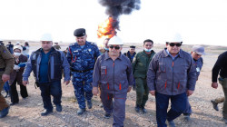 The Ministry of Oil announces extinguishing blazes in Khabaz oil field