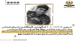 A member of the Peshmerga killed in a fire exchange with PKK