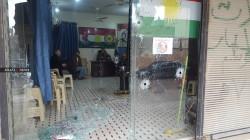 صور.. مجهولون يفتحون النار على مقر المجلس الكوردي في الدرباسية