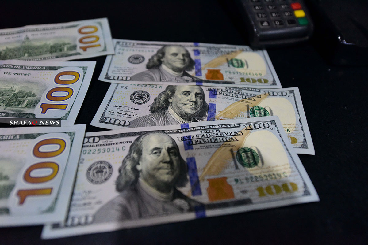 البنك المركزي العراقي يسجل قفزة في مبيعاته من العملة الصعبة