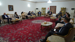 Salih discusses with the Kurdistan delegation solutions to the outstanding issues