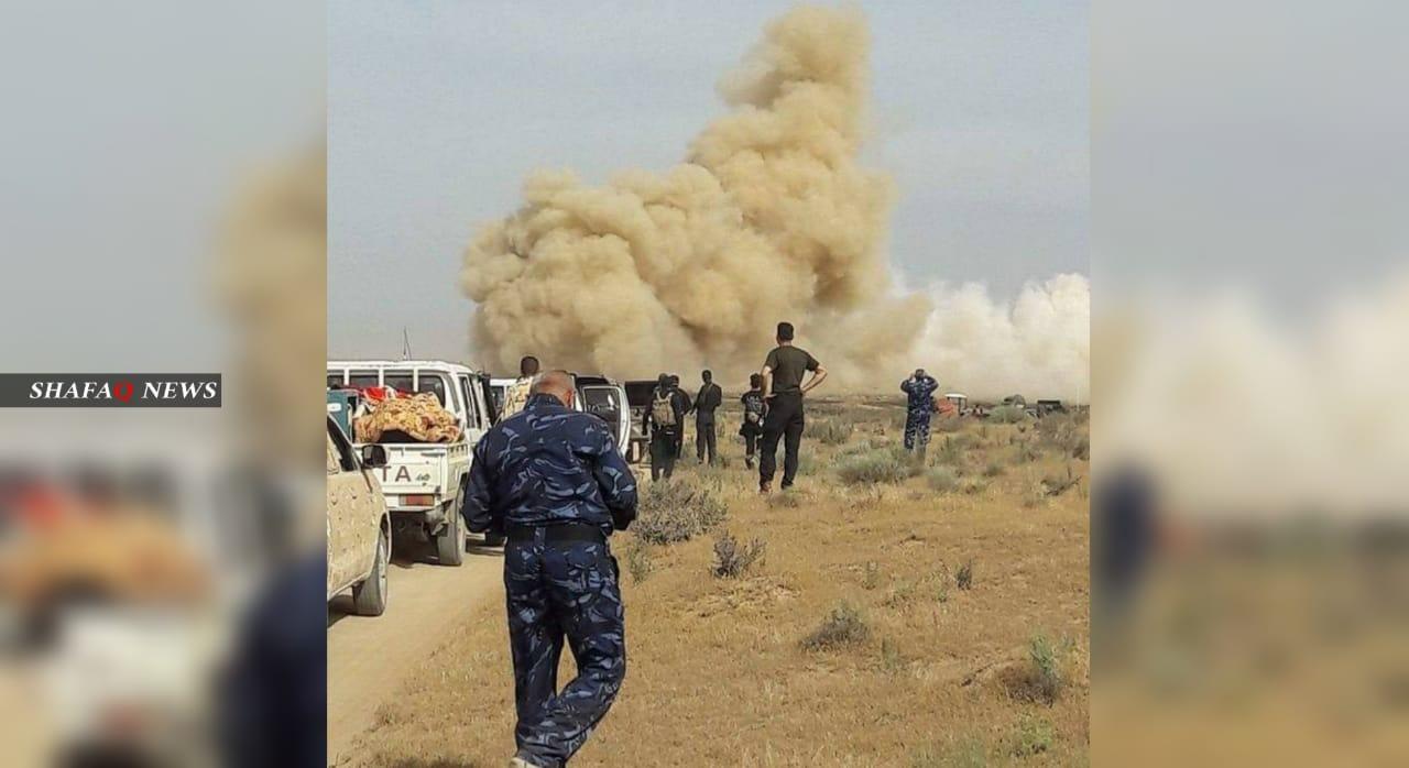 انفجار في مقر للحشد واصابة مدنيين اثنين في محافظتين عراقيتين