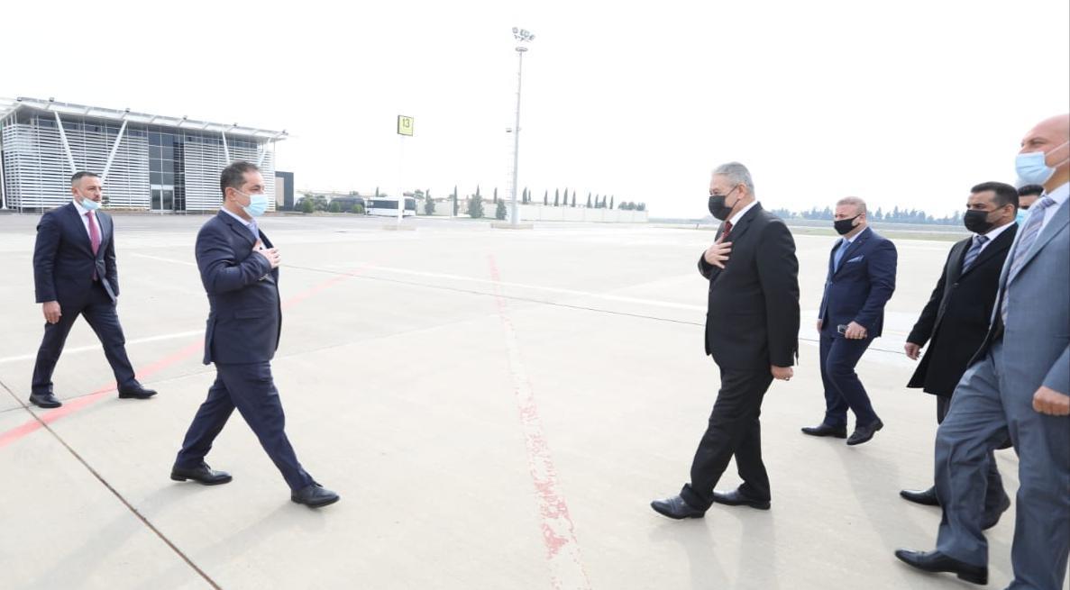 مسؤول امني عراقي رفيع يصل الى اربيل