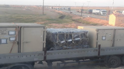 Logistic Aid convoy enters AANES from Kurdistan