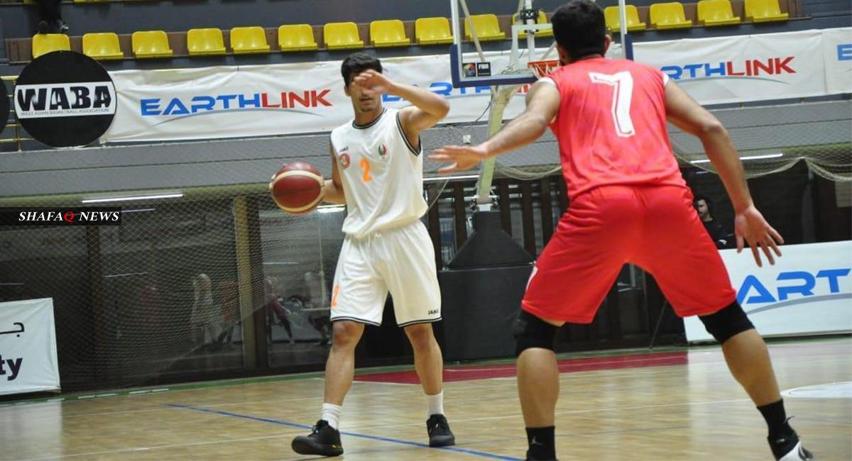 نتائج كبيرة في دوري السلة العراقي