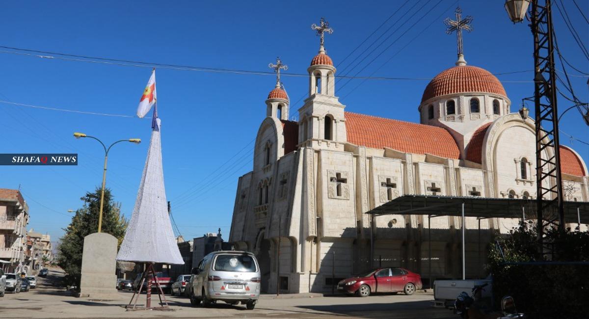 صور.. مسيحيو ديرك يحتفلون بعيد الميلاد ضمن قيود الجائحة
