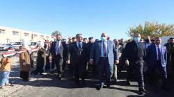 مشروع ماء جديد وتأهيل مستشفى متهالك في منطقة عراقية منكوبة