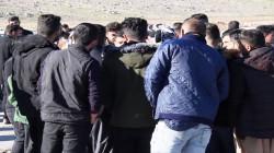 تظاهرة في اقليم كوردستان ضد محتال استولى على ملايين الدولارات