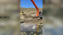 اعتقال شخصين لوثا نهراً في السليمانية بـ 6 الاف دجاجة نافقة.. صور